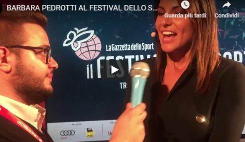 """Barbara Pedrotti a YSport: """"Il Festival dello Sport un'opportunità per Trento"""""""