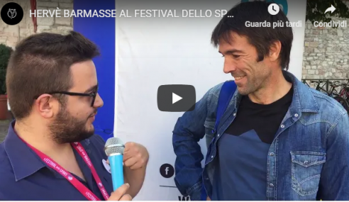 """Hervé Barmasse a YSport: """"La mia vita, la montagna, le mie imprese"""""""