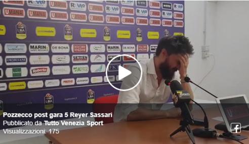 Umana Reyer Venezia-Dinamo Sassari 75-68: Pozzecco furioso in conferenza stampa (Video)