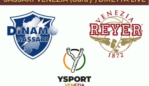 Reyer Venezia 87-61 Dinamo Sassari: Cronaca e Tabellini (Gara 7 Playoff Scudetto)