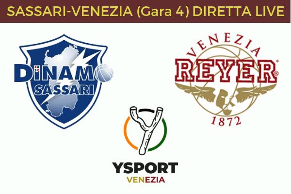 Sassari-Venezia diretta link online gratis streaming live in tempo reale risultato rai sport rai play