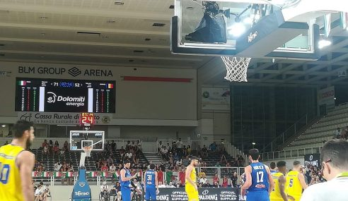 L'Italbasket vince la Trentino Basket Cup 2019