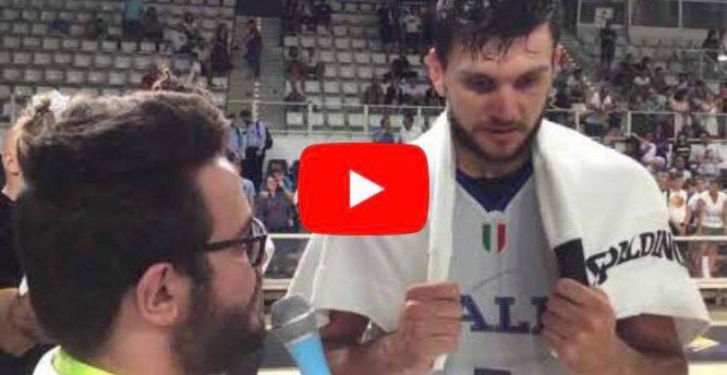 """Italbasket, Alessandro Gentile a YSport: """"Sto bene e gioco sempre per vincere"""" (Video)"""