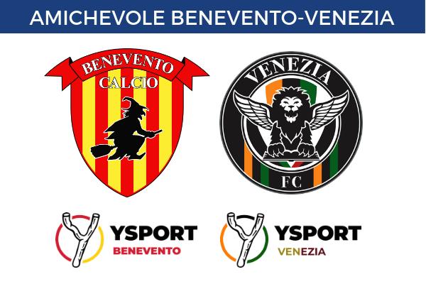Benevento-Venezia amichevole diretta streaming gratis online link risultato tempo reale Ottochannel 696