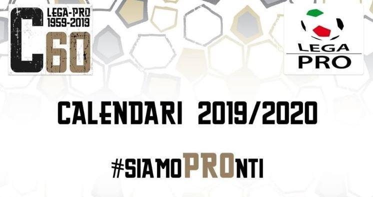 Calendario Luglio 2020 Da Stampare.Calendario Completo Serie C Girone B 2019 20 Pdf Da