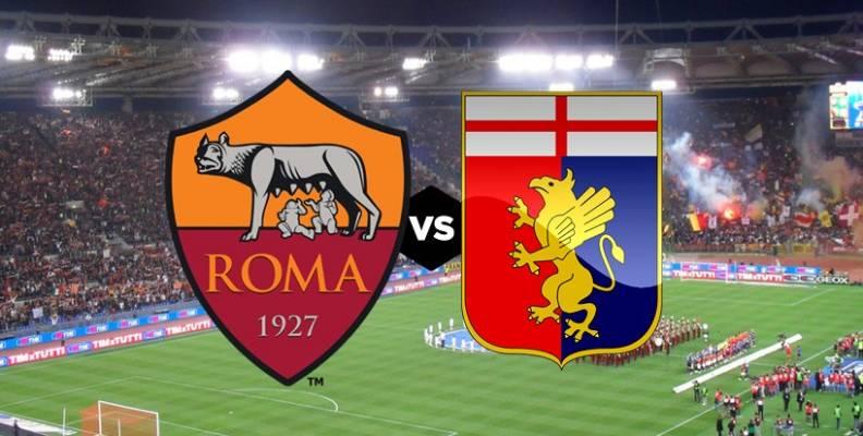 Roma-Genoa Streaming Gratis Diretta Link Online Live Tv Risultato TEmpo Reale