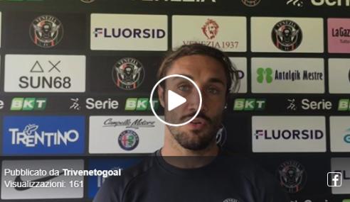 """Venezia Calcio News, Zuculini: """"Prestazione positiva, ora pensiamo al Frosinone"""""""