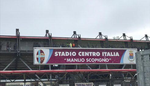 Rieti Calcio torna al Presidente Curci: domenica la partita con l'Avellino