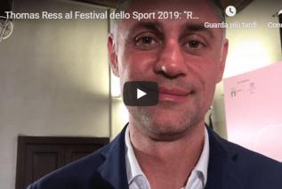 """Festival dello Sport 2019, Ress sulla Reyer: """"Mi aspetto una Venezia in crescita"""" (Video)"""