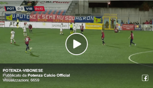Highlights Potenza-Vibonese 1-0: Video Gol França e Sintesi (Serie C 2019-20)