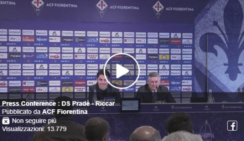 Sottil rinnova con la Fiorentina: conferenza stampa con il DS Pradè (Video)