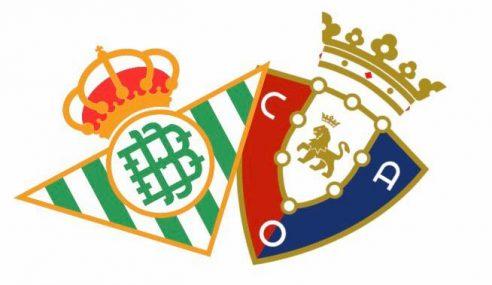 Betis-Osasuna: Pronostico e Formazioni (Liga 2019-20)