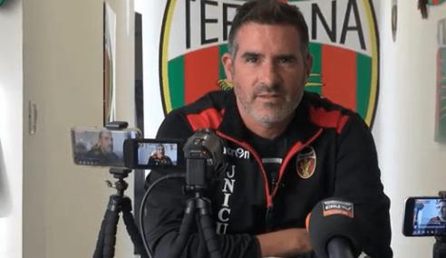 Catanzaro-Ternana 2-1: le dichiarazioni di Cristiano Lucarelli nel post partita