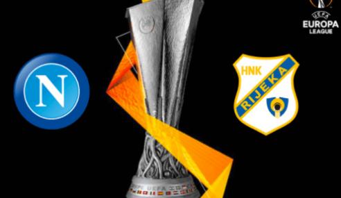 Napoli-Rijeka Streaming: Diretta Gratis Online (Europa League 2020-21)