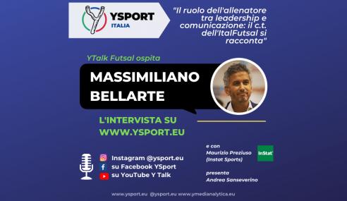 YTalk con Massimiliano Bellarte: allenatore della Nazionale Italiana Futsal