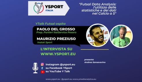 YTalk Futsal con Paolo Del Grosso e Maurizio Preziuso