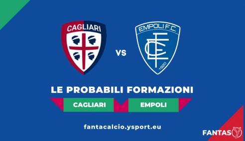 Cagliari-Empoli: Probabili Formazioni Fantacalcio e Pronostico (5a Giornata Serie A 2021-22)