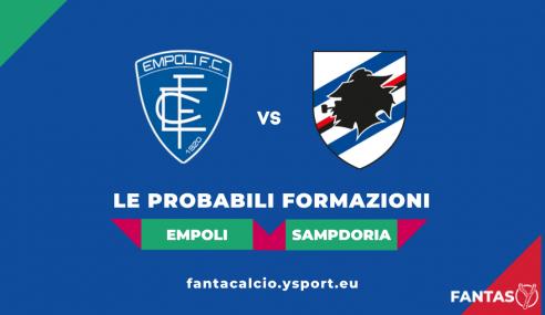 Empoli-Sampdoria: Probabili Formazioni Fantacalcio e Pronostico (4a Giornata Serie A 2021-22)