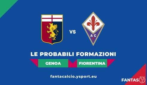 Genoa-Fiorentina: Probabili Formazioni Fantacalcio e Pronostico (4a Giornata Serie A 2021-22)