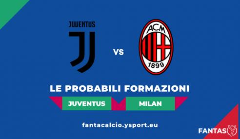 Juventus-Milan: Probabili Formazioni Fantacalcio e Pronostico (4a Giornata Serie A 2021-22)