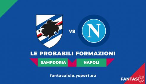Sampdoria-Napoli: Probabili Formazioni Fantacalcio e Pronostico (Serie A 2021-22)