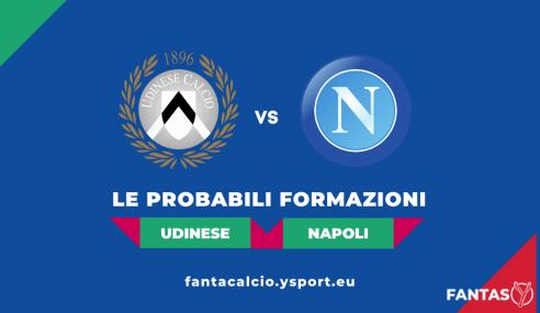 Udinese-Napoli: Probabili Formazioni Fantacalcio e Pronostico (4a Giornata Serie A 2021-22)