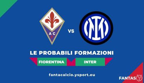 Fiorentina-Inter: Probabili Formazioni Fantacalcio e Pronostico (5a Giornata Serie A 2021-22)