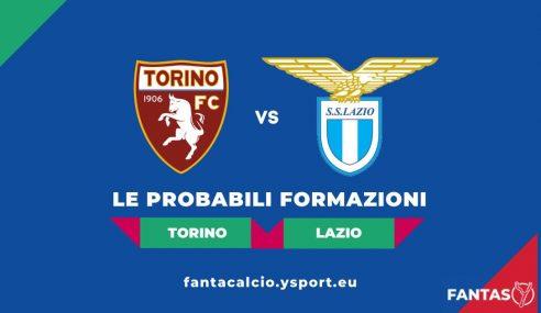 Torino-Lazio: Probabili Formazioni Fantacalcio e Pronostico (5a Giornata Serie A 2021-22)